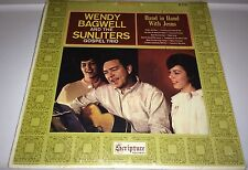 WENDY BAGWELL & THE SUNLITERS....HAND IN HAND WITH JESUS LP (cover rated 9)