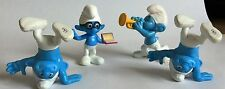 4 x MCDONALDS TOY's – SMURF'S – PLAY SET/ CAKE TOPPERS