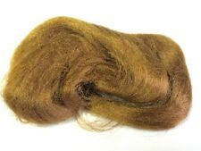 Mid Brown Dolls Viscose Wigging Hair, Doll House Miniature