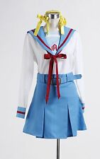 The Melancholy of Haruhi Suzumiya Uniform Anime Cosplay Costume