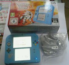 Console Nintendo 2DS Édition speciale Pokémon Soleil COMME NEUVE