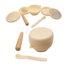 6 in 1 Multifunction For Baby Food Grinding Bowl Mash Grinder Maker Processor