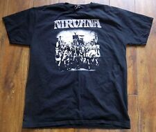 Original NIRVANA - All of Us. Island Records 50th Anniversary 2009 T-shirt L
