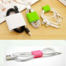 Useful Organizer Mini Headphone Cord Clips Cable Wire Ties USB Holder