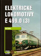 Book Czech Electric E 499.0 Locomotives Pt 3 - Elektricke Lokomotivy - Corona