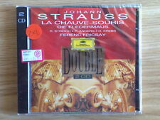 JOHANN STRAUSS - LA CHAUVE-SOURIS (DIE FLEDERMAUS) - 2 CD SIGILLATO (SEALED)