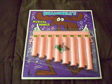 1969 Larami Corp. Bullwinkle's Musical Monica Still In Package Unpunched Harp