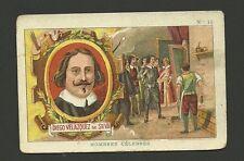 Diego Velazquez de Silva Painter  Vintage 1920s Chocolate Card from Spain
