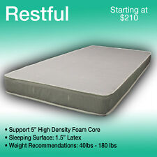 36 x 80 RESTFUL----LUXURIOUS TRUCK MATTRESS----FITS ANY MAKE AND MODEL