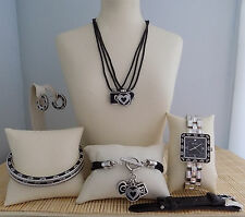 "Brighton ""Midnight Sun"" Necklace Bracelet 2 Bangels Earrings Watch & xtra Band"