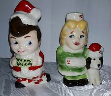 Big Boy and Dolly Salt and Pepper Shakers, Limited Edition Mint, 1990's