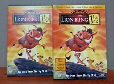 Authentic Disney: The Lion King 1 1/2  (2 DVD Set) w/Slipcover  LIKE NEW