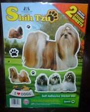 Shih Tzu Dog Stickers Kennel Club