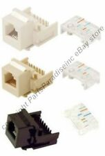 Lot10 Keystone Phone/Telephone Jack,RJ11/RJ12 Tooless