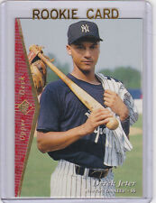 DEREK JETER RC Upper Deck SP ROOKIE CARD Baseball NEW YORK YANKEES