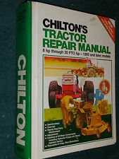 1960-1981 DEERE / FORD / IH / CASE / ALLIS CHALMERS+ TRACTOR SHOP MANUAL CHILTON