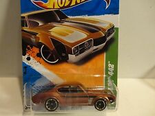 2011 Hot Wheels Treasure Hunt #58 Brown '68 Olds 442