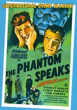 THE PHANTOM SPEAKS- RICHARD ARLEN, 1945 Republic Pictures horror classic DVD