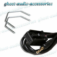 Vauxhall Corsa Car Stereo AUX-In Input Adapter Connector with Radio Release Keys