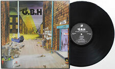 Charged G.B.H. - City Baby Attacked By Rats LP ORIGINAL 1982 UK PRESS Discharge
