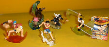 BATTLE Bandai Diorami One Piece  5 Gashapon miniVIGNETTE ZORO RUFY CHOPPER LUCCI
