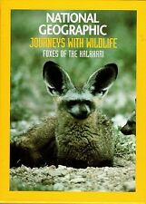 national geographic journeys with wildlife foxes of the kalahari DVD
