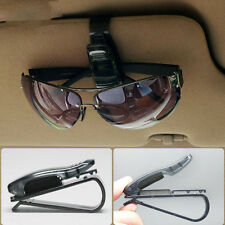Fit Sun Visor Portable Car Sunglasses Eye Glasses Ticket Card Pen Holder Clip *