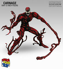 "Medicom Spider-Man Carnage RAH 236 Figure 12"" Marvel New in Box Japan MIB Rare"