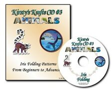 Kirsty Krafts Iris Folding CD 3 - Animals - Templates, Patterns & Card Gallery.
