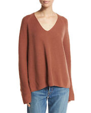 Vince | Cashmere Deep V Pullover In Cinnamon Size Large L $345