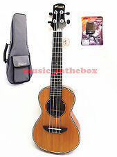 "WOODNOTE/ Pro. 24"" walnut concert Ukulele - Solid Korean pine on Top+Padding Bag"
