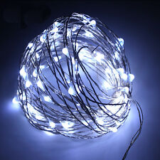 30/50/100 LED String Copper Wire Fairy Xmas Lights Battery Powered Waterproof