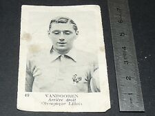 FOOTBALL FRANCE 1934-1936 JULES VANDOOREN OLYMPIQUE LILLOIS LILLE