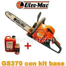 Motosega universale OLEO-MAC GS370 EURO2 - 2,2 HP - 1,6 kW/35,2 cm³ + kit base