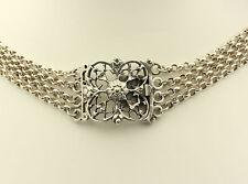 ♦ Collier aus 835 Silber Kropfkette Silberkette Tracht Halskette Folklore Kette