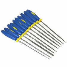 10 PC MINI NEEDLE FILE SET PRECISION MICRO FILES CRAFT METAL WORK JEWELLERY TOOL