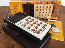 Mint NOS Vtg Rockwell Digital Electronic Calculator 70s Computer Age Mid Century