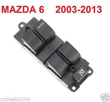 Mazda 6 Master Main Power Window Switch 2003-2012 Right Hand Front Driver NEW