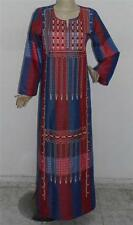 New! Women's Embroidered Long Kaftan Caftan Islamic Dress Gown Abaya Medium
