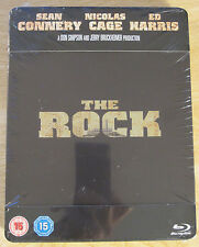 The Rock Blu-Ray Steelbook [UK] Region Free Sealed Nicholas Cage Sean Connery