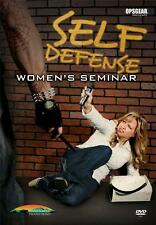 Self Defense A Women's Seminar Personal ProtectionTraining Instruction DVD NEW