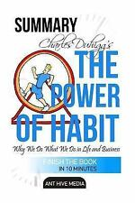 Charles Duhigg's the Power of Habit by Ant Hive Media Staff (2015, Paperback)