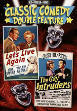 Classic Comedy Double Feature: Let's Live Again/The Gay Intruders (DVD) NEW