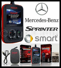 MERCEDES BENZ SMART SPRINTER Diagnostic Scanner Tool SRS ABS CHECK ENGINE OBD2