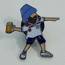 Euro 2016 England Fishermans Friend Pin A Guy Called Minty & Casual Connoisseur.