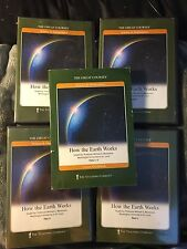 Great Courses- DVD & Book Set- How The Earth Works
