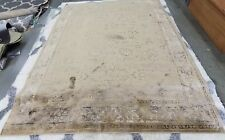 """Safavieh Taupe 8' 10"""" x 12' 2"""" slightly damaged rug for reduced price"""