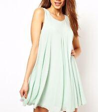 TFNC Mini Swing Dress UK 8 EU 36 USA 4 Mint Green