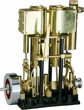 New SAITO Steam Engine T2DR-L for Model Ship Toy Marine Boat Free Shipping