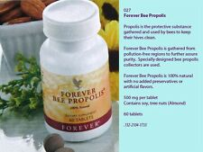 Forever Bee Propolis - Natural Immune support 60 Tablets Exp 2019 & up